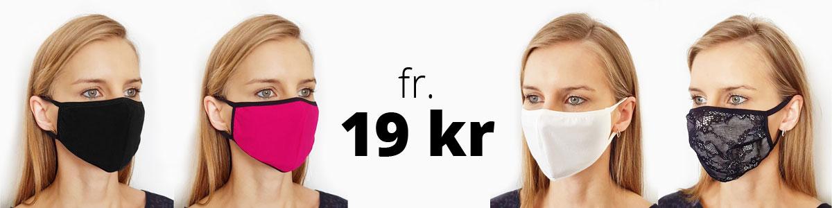 Ansiktsmasker från 19 kr