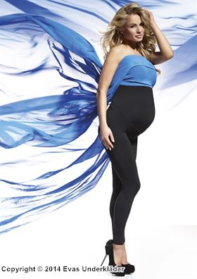 Höga leggings för gravida
