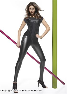 latex leggings underkläder plus size