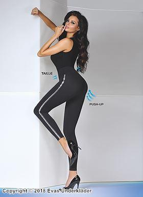 Formande leggings med push-up-effekt