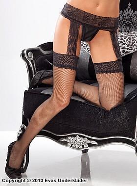 Stockings med inbyggd höfthållare