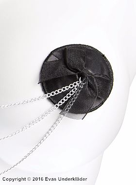 Bröstvårtetäckare med kedjor