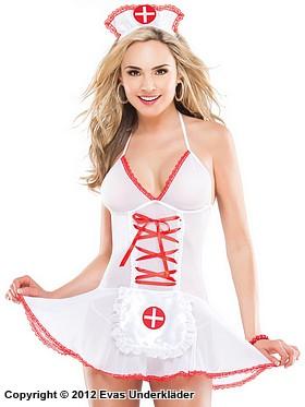 Skir klänning, sjuksköterska