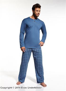 Rutig pyjamas