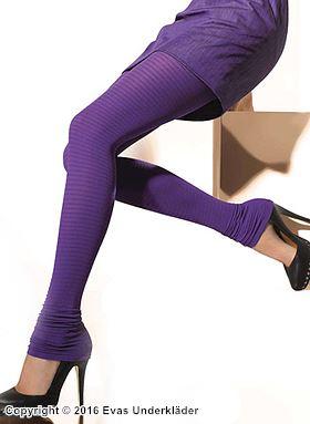 Leggings med extra benlängd