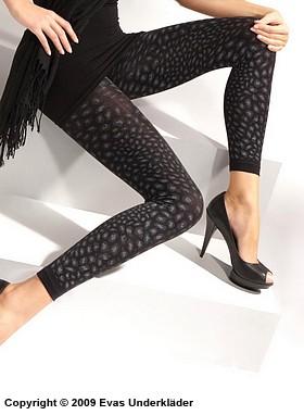 Leopardmönstrade leggings