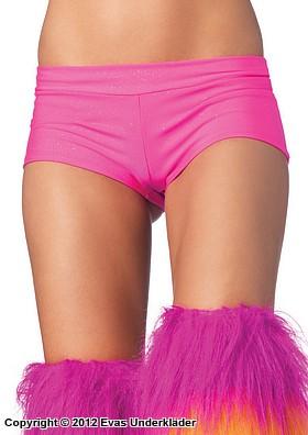 Korta shorts i spandex