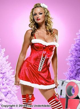 Julklänning med snörning