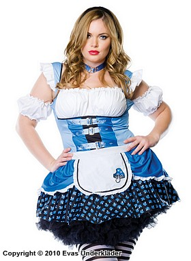 Magic Mushroom Alice, maskeradkläder, plus size