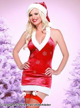 Julklänning med snöflingor