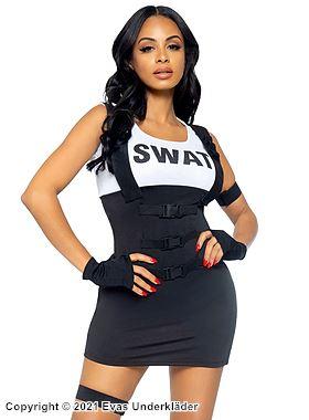 SWAT-kostym, maskeradkläder