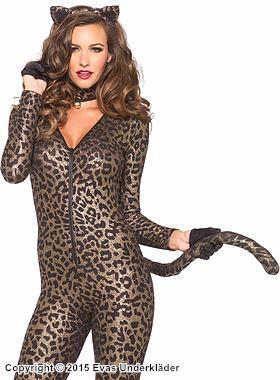 Guldskimrande leoparddräkt