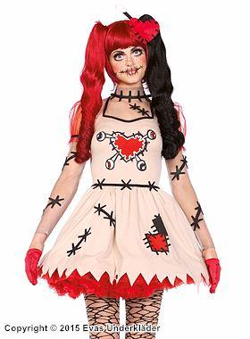 Voodoo-docka, maskeradklänning
