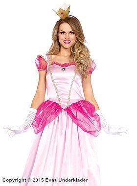 Prinsessklänning för maskerad