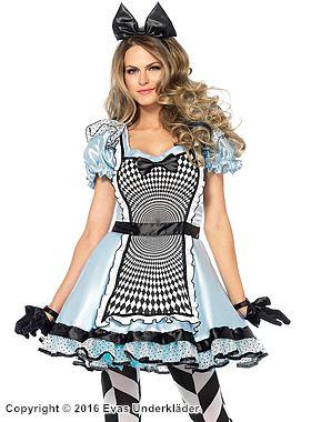 Hypnotisk Alice-klänning