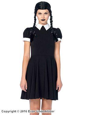Familjen Addams-klänning, maskeraddräkt