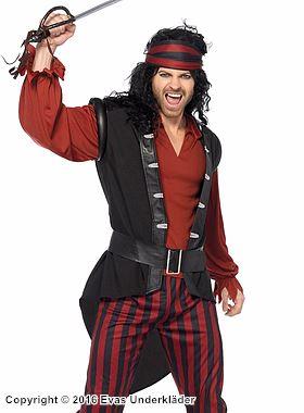 Piratkapten, maskeradkostym