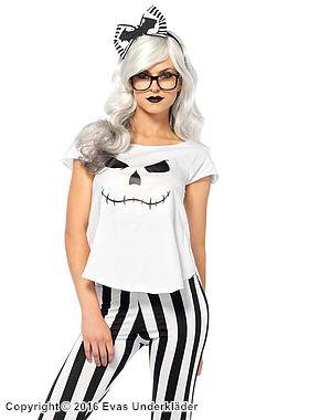 Hipster-skelett, maskeraddräkt