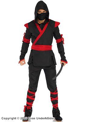 Ninja-dräkt, maskeradkostym