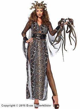 Medusa, maskeraddräkt