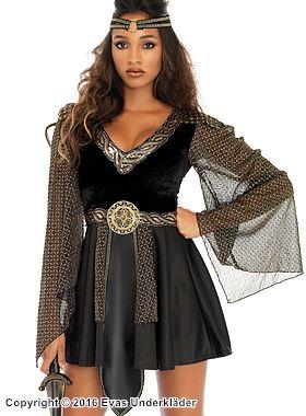 Keltisk krigarprinsessa, maskeraddräkt