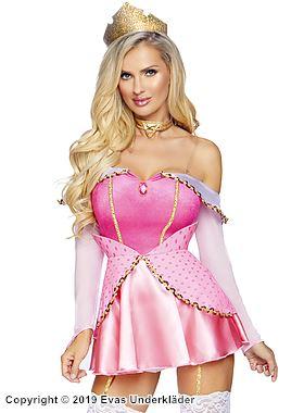Sockersöt princessa, maskeradklänning