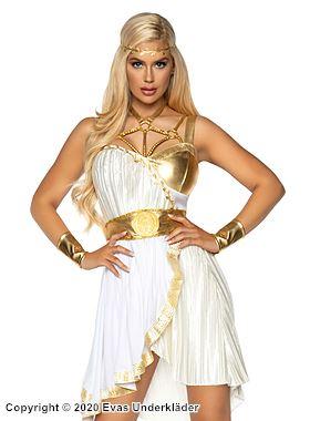 Grekisk gudinna, maskeradklänning