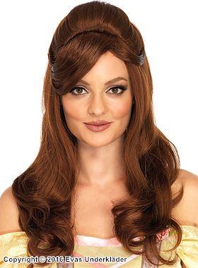 Prinsess-peruk för maskerad