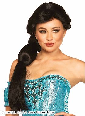 Jasmine från Aladdin, Maskeradperuk
