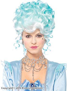 Marie Antoinette-inspirerad maskeradperuk