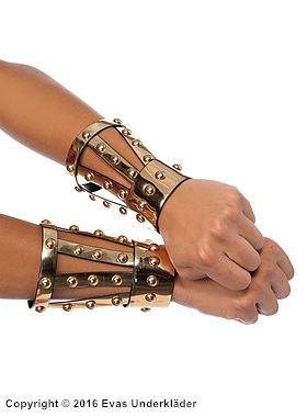 Guldskimrande grekiska armband
