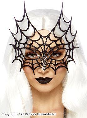 Ansiktsmask, spindelnät