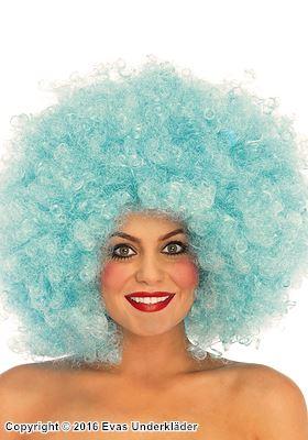Färgglad afro-peruk