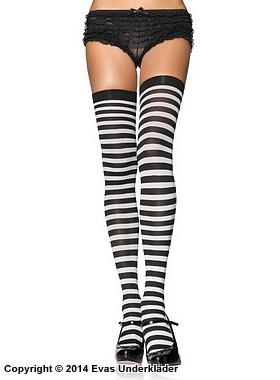 Randiga stockings, plus size