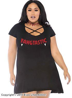 Vampyrklänning, plus size