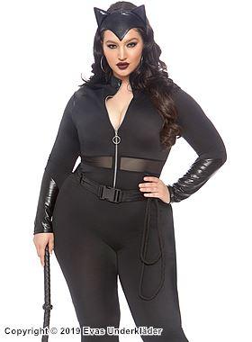 Catwoman, maskeraddräkt, plus size