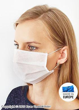 Ansiktsmask / Munskydd, dragspelsvikt