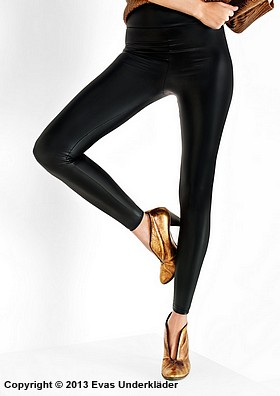 Leggings i latex