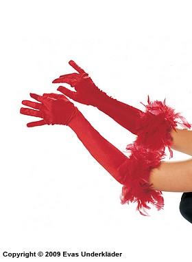 Eleganta handskar i tre färger