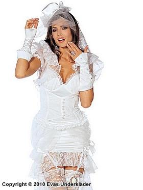 Viktoriansk brud, maskeradkläder