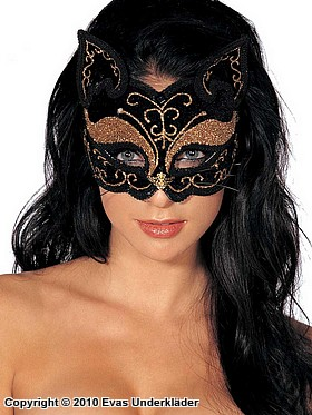 Katt-inspirerad ögonmask