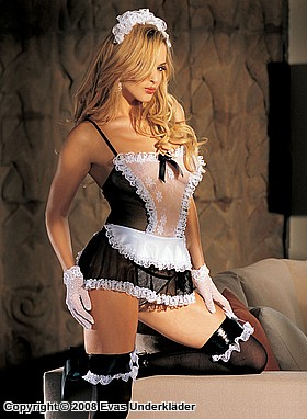 French maid, maskeradunderklädesset