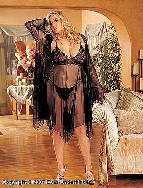 sexiga underkläder set i mobilen