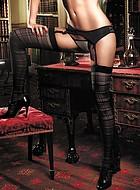 Rutiga stockings
