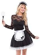 French maid, maskeradklänning i 3 delar