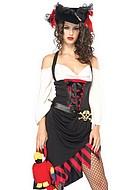 Piratkostym, maskeradkläder