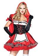 Stygga Rödluvan, maskeradkläder