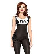 SWAT, maskeraddräkt i 3 delar