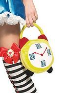 Klockformad handväska