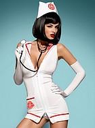 Sjuksköterska, kostym med minidress